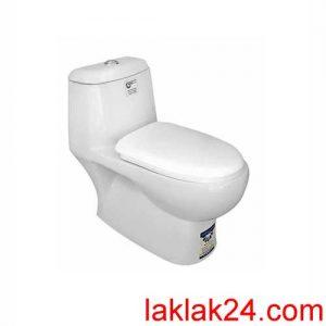 توالت فرنگی مينا مدل برليان