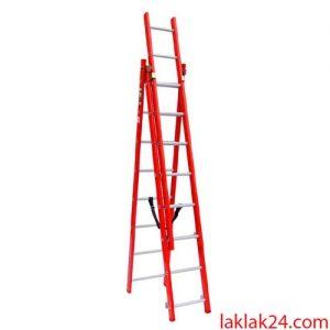 نردبان 6 متري 3 تکه تک صنعت