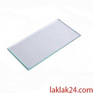 شیشه ماسک سفید